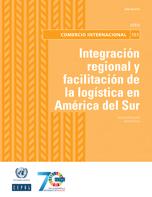 Integración regional y facilitación de la logística en América del Sur