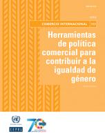 Herramientas de política comercial para contribuir a la igualdad de género