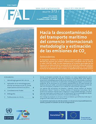 Hacia la descontaminación del transporte marítimo del comercio internacional: metodología y estimación de las emisiones de CO2
