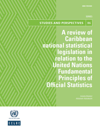 A review of Caribbean national statistical legislation in relation to the United Nations Fundamental Principles of Official Statistics