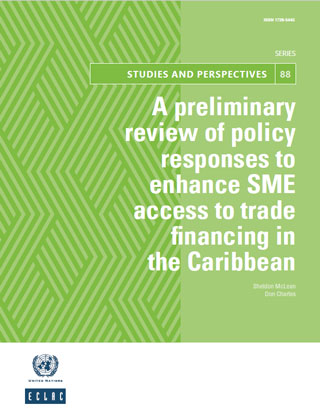 A preliminary review of policy responses to enhance SME access to trade financing in the Caribbean