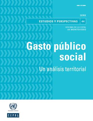 Gasto público social: un análisis territorial