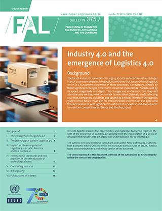 Industry 4.0 and the emergence of Logistics 4.0