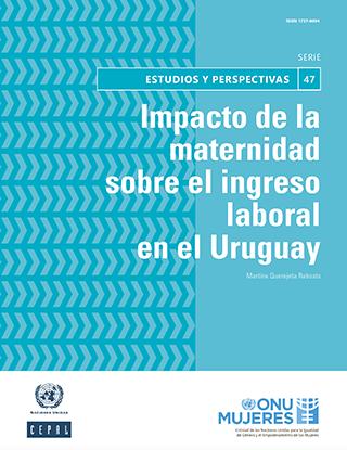 Impacto de la maternidad sobre el ingreso laboral en el Uruguay