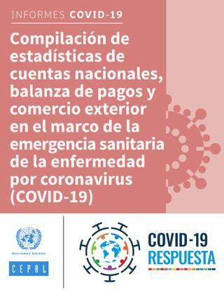Compilación de estadísticas de cuentas nacionales, balanza de pagos y comercio exterior en el marco de la emergencia sanitaria de la enfermedad por coronavirus (COVID-19)