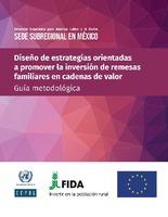 Diseño de estrategias orientadas a promover la inversión de remesas familiares en cadenas de valor: guía metodológica