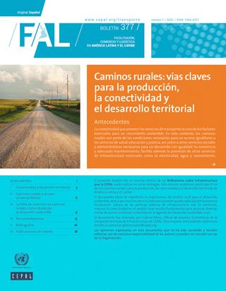 Caminos rurales: vías claves para la producción, la conectividad y el desarrollo territorial