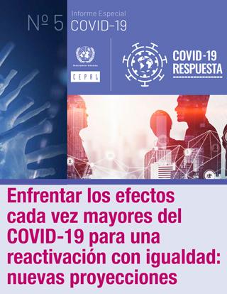Enfrentar los efectos cada vez mayores del COVID-19 para una reactivación con igualdad: nuevas proyecciones