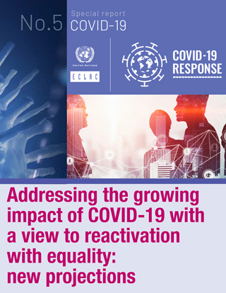 Addressing the growing impact of COVID-19 with a view to reactivation with equality: New projections