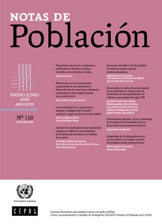 Notas de Población N° 110