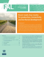 Rural roads: Key routes for production, connectivity and territorial development