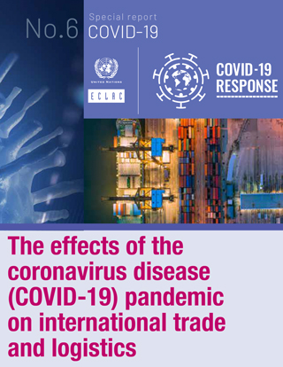 The effects of the coronavirus disease (COVID-19) pandemic on international trade and logistics