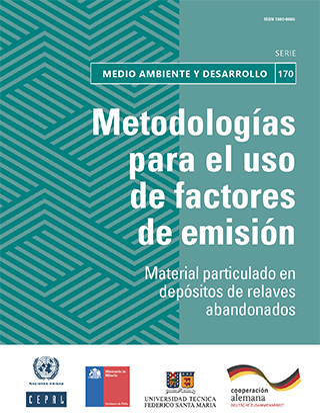 Metodologías para el uso de factores de emisión: material particulado en depósitos de relaves abandonados