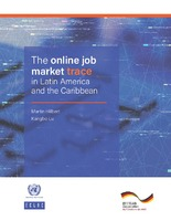 The online job market trace in Latin America and the Caribbean