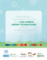Performance indicators associated with low-carbon energy technologies in Brazil: Evidence for an energy big push