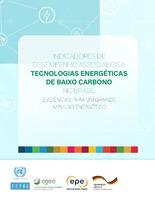 Indicadores de desempenho associados a tecnologias energéticas de baixo carbono no Brasil: evidências para um grande impulso energético