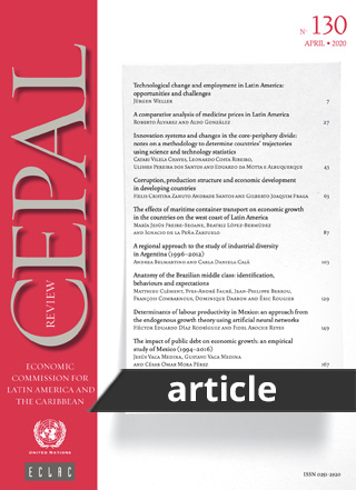 Determinants of labour productivity in Mexico: an approach from the endogenous growth theory using artificial neural networks