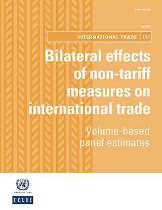 Bilateral effects of non-tariff measures on international trade: Volume-based panel estimates