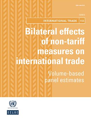 Bilateral effects of non-tariff measures on international trade: Volume-based panel estimates