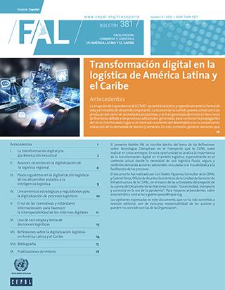 Transformación digital en la logística de América Latina y el Caribe