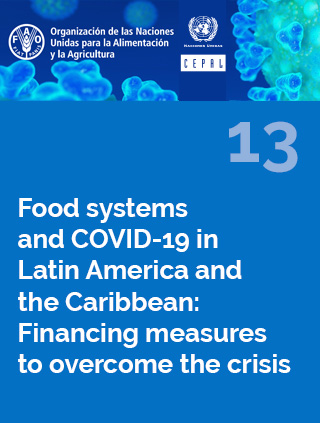 Food systems and COVID-19 in Latin America and the Caribbean N° 13: Financing measures to overcome the crisis