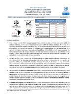 Boletín estadístico de comercio exterior de bienes en América Latina y el Caribe. Primer trimestre 2020 (Nro. 39)