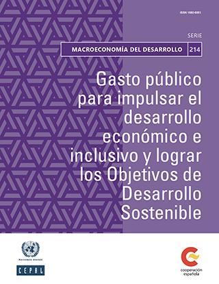 Gasto público para impulsar el desarrollo económico e inclusivo y lograr los Objetivos de Desarrollo Sostenible