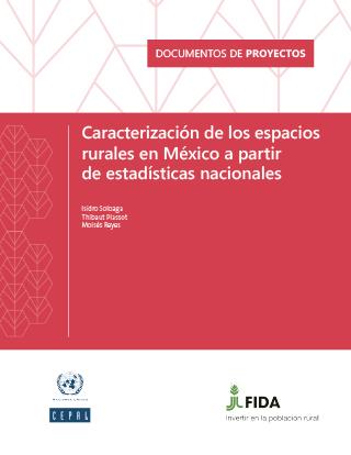 Caracterización de los espacios rurales en México a partir de estadísticas nacionales