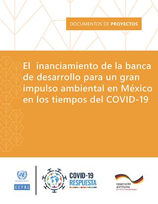 El financiamiento de la banca de desarrollo para un gran impulso ambiental en México en los tiempos del COVID-19