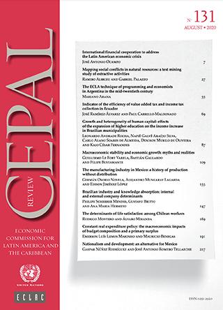 CEPAL Review no. 131