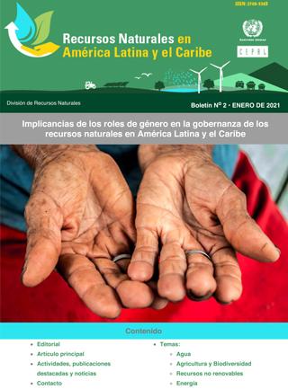 Recursos Naturales en América Latina y el Caribe - No. 2