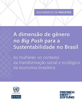 A dimensão de gênero no Big Push para a Sustentabilidade no Brasil: As mulheres no contexto da transformação social e ecológica da economia brasileira