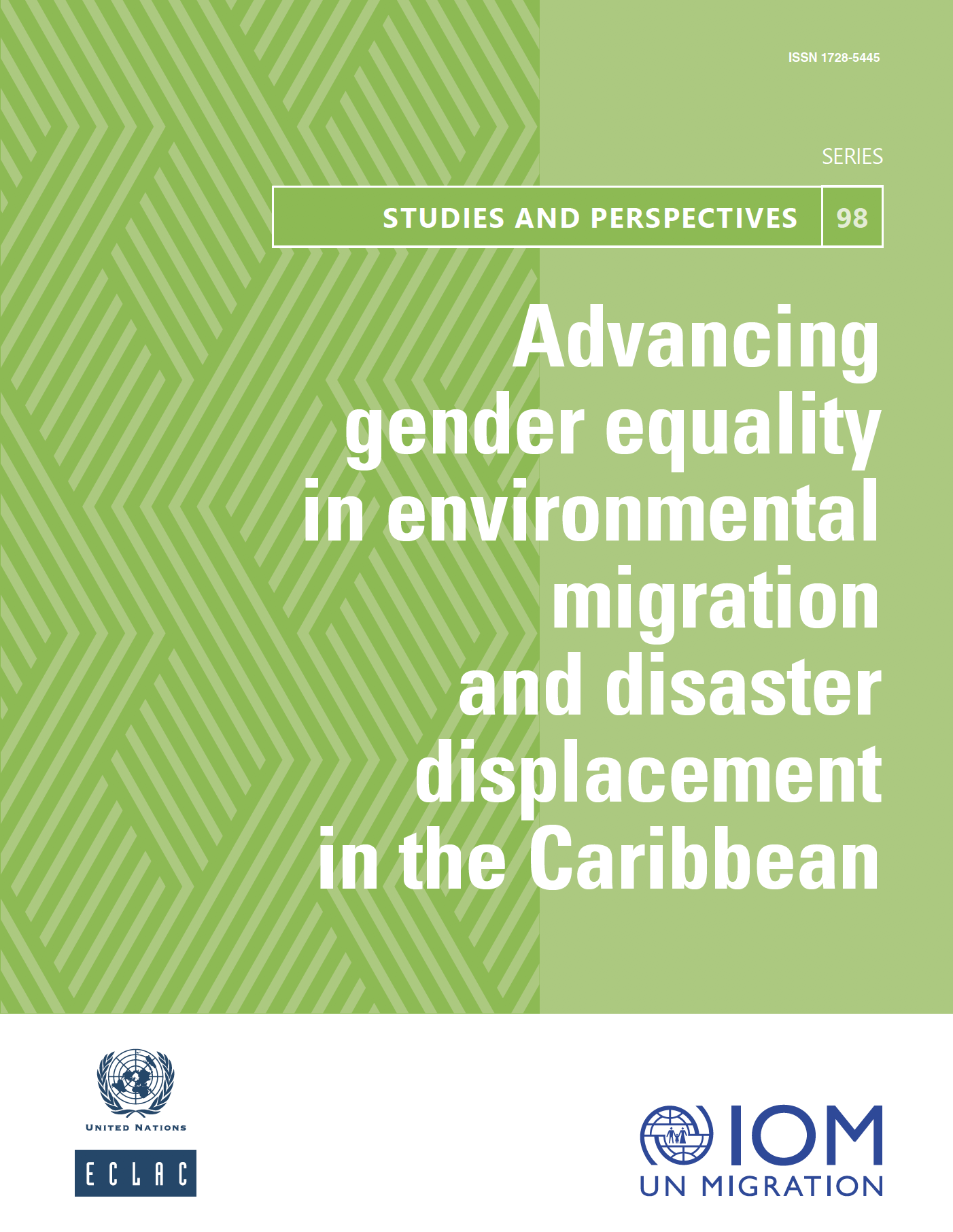 Advancing gender equality in environmental migration and disaster displacement in the Caribbean