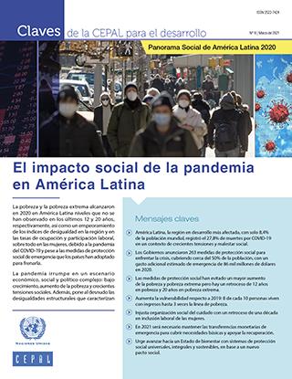 Claves de la CEPAL para el desarrollo Nº 8: Panorama Social de América Latina 2020