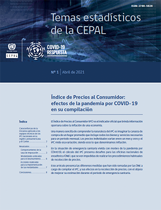 Índice de Precios al Consumidor: efectos de la pandemia por COVID-19 en su compilación