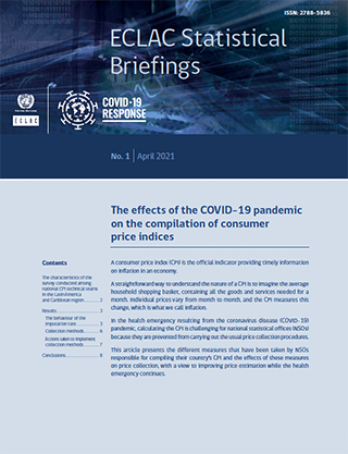 The effects of the COVID-19 pandemic on the compilation of consumer price indices
