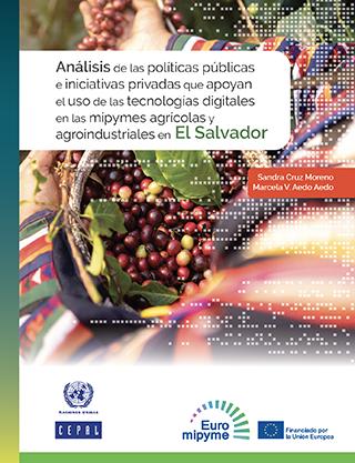 Análisis de las políticas públicas e iniciativas privadas que apoyan el uso de las tecnologías digitales en las mipymes agrícolas y agroindustriales en El Salvador