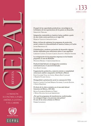 Revista CEPAL no. 133