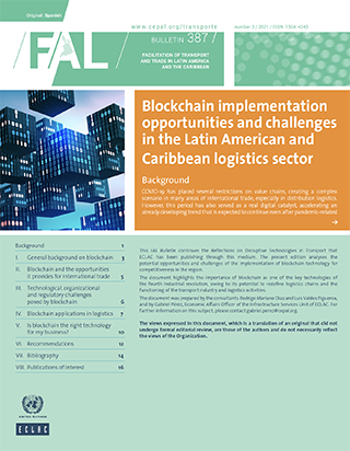 Blockchain implementation opportunities and challenges in the Latin American and Caribbean logistics sector