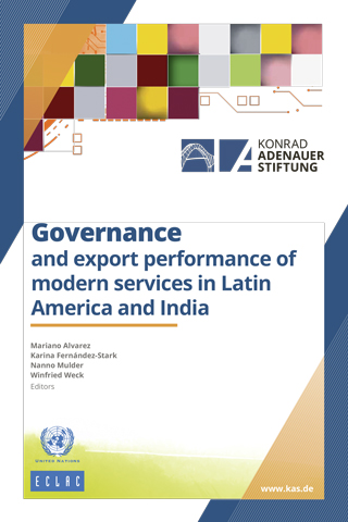 Governance and export performance of modern services in Latin America and India