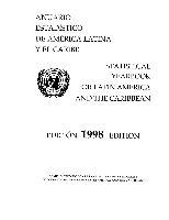 Anuario Estadístico de América Latina y el Caribe 1998 = Statistical Yearbook for Latin America and the Caribbean 1998