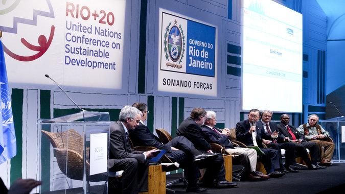 United Nations Conference on Sustainable Development (Rio+20), Rio de Janeiro, June 2012