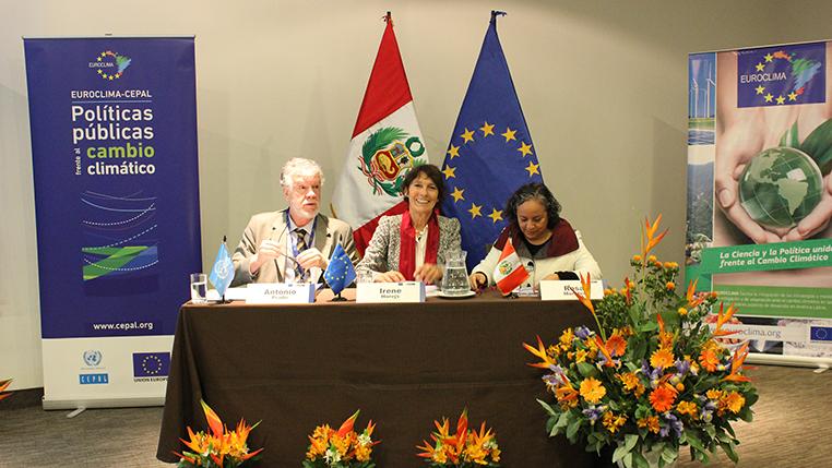 Palabras del Secretario Ejecutivo Adjunto de la CEPAL Antonio Prado en Seminario Euroclima
