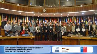 Curso-taller Metodología para construir y sostener indicadores de biodiversidad y ODS