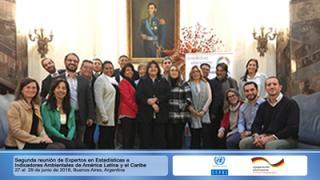 Segunda reunión de Expertos en Estadísticas e Indicadores Ambientales de ALC, 2018