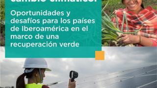 """Webinar """"La incorporación de la perspectiva de género en los instrumentos de lucha contra el cambio climático: oportunidades y desafíos para Iberoamérica en el marco de una recuperación verde"""""""