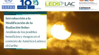 Introducción a la Modificación de la Radiación Solar: Análisis de los posibles beneficios y riesgos en el contexto de ALC