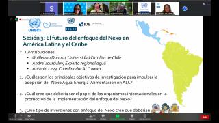 El futuro del enfoque del Nexo en América Latina y el Caribe
