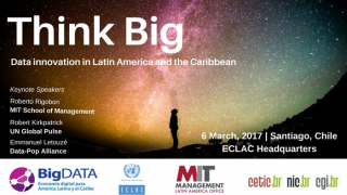 Seminario Big Data flyer