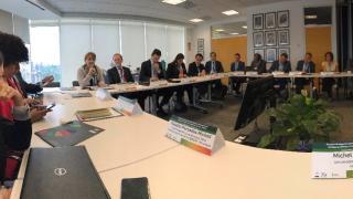 Participantes evento reunión de expertos